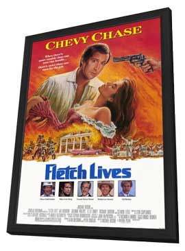 Fletch Lives - 27 x 40 Movie Poster - Style A - in Deluxe Wood Frame