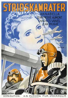 Flight Into Darkness - 27 x 40 Movie Poster - Swedish Style A