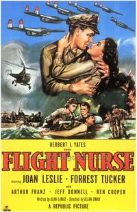 Flight Nurse - 43 x 62 Movie Poster - Bus Shelter Style A