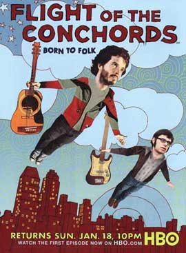 Flight of the Conchords - 27 x 40 TV Poster - Style A