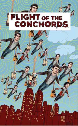 Flight of the Conchords - 11 x 17 TV Poster - Style C