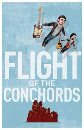 Flight of the Conchords - 11 x 17 TV Poster - Style D