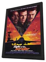 Flight of the Intruder - 11 x 17 Movie Poster - Style A - in Deluxe Wood Frame