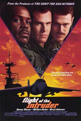 Flight of the Intruder - 11 x 17 Movie Poster - Style A