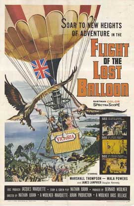Flight of the Lost Balloon - 11 x 17 Movie Poster - Style A