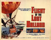 Flight of the Lost Balloon - 22 x 28 Movie Poster - Half Sheet Style A