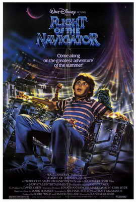 Flight of the Navigator - 27 x 40 Movie Poster - Style A