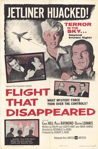 Flight That Disappeared - 11 x 17 Movie Poster - Style A