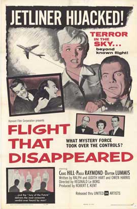 Flight That Disappeared - 27 x 40 Movie Poster - Style A