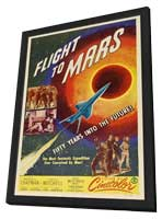 Flight to Mars - 11 x 17 Movie Poster - Style C - in Deluxe Wood Frame