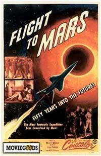 Flight to Mars - 43 x 62 Movie Poster - Bus Shelter Style A