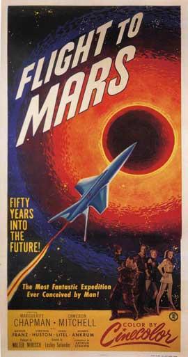 Flight to Mars - 11 x 17 Movie Poster - Style B