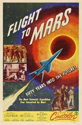 Flight to Mars - 27 x 40 Movie Poster - Style C
