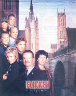 Flikken (TV) - 11 x 17 TV Poster - Belgian Style A