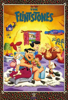The Flintstones (TV) - 27 x 40 TV Poster - Style A