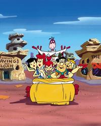 The Flintstones (TV) - 8 x 10 Color Photo #001
