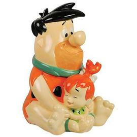 The Flintstones (TV) - The Fred and Pebbles Cookie Jar