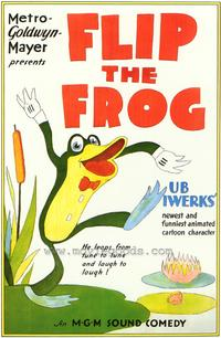 Flip the Frog - 27 x 40 Movie Poster - Style B