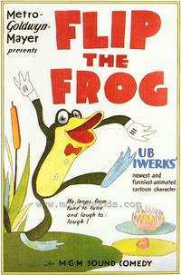 Flip the Frog - 43 x 62 Movie Poster - Bus Shelter Style A
