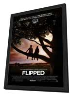 Flipped - 27 x 40 Movie Poster - Style A - in Deluxe Wood Frame
