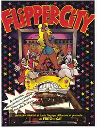 Flipper City - 27 x 40 Movie Poster - French Style A