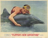 Flipper's New Adventure - 11 x 14 Movie Poster - Style F