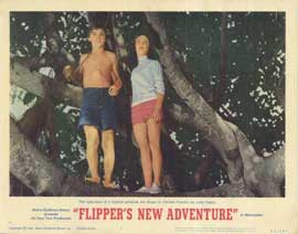 Flipper's New Adventure - 11 x 14 Movie Poster - Style H