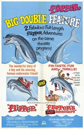 Flipper's New Adventure - 11 x 17 Movie Poster - Style A