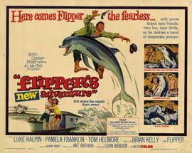 Flipper's New Adventure - 22 x 28 Movie Poster - Half Sheet Style A