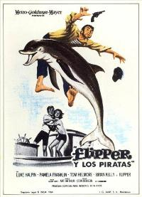 Flipper's New Adventure - 11 x 17 Movie Poster - Spanish Style A