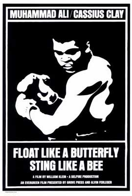 Float Like a Butterfly Sting Like a Bee - 27 x 40 Movie Poster - Style A