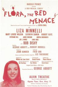 Flora the Red Menace (Broadway) - 11 x 17 Poster - Style A