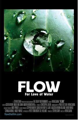 Flow: For Love of Water - 11 x 17 Movie Poster - Style B