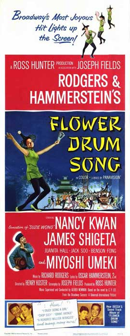 Flower Drum Song - 14 x 36 Movie Poster - Insert Style A