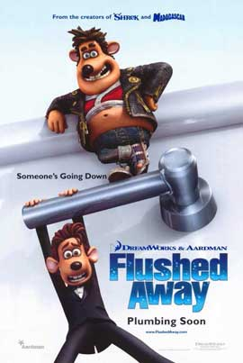 Flushed Away - 11 x 17 Movie Poster - Style A