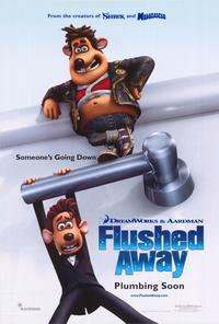 Flushed Away - 43 x 62 Movie Poster - Bus Shelter Style A