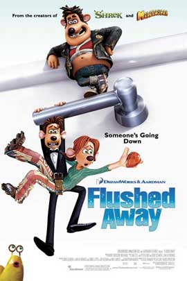 Flushed Away - 11 x 17 Movie Poster - Style B