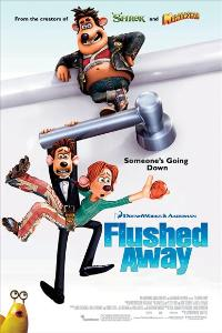 Flushed Away - 27 x 40 Movie Poster - Style B