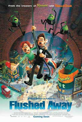 Flushed Away - 11 x 17 Movie Poster - Style C