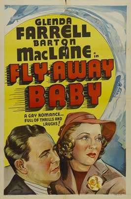 Fly Away Baby - 11 x 17 Movie Poster - Style A