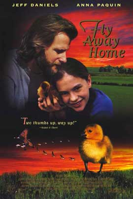 Fly Away Home - 11 x 17 Movie Poster - Style A