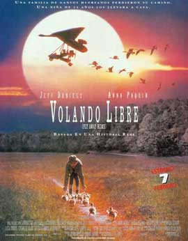 Fly Away Home - 11 x 17 Movie Poster - Spanish Style A
