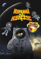 Fly Me to the Moon 3D - 11 x 17 Movie Poster - Polish Style A