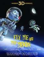 Fly Me To The Moon - 27 x 40 Movie Poster - Style F