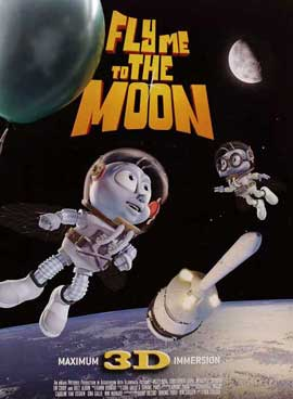 Fly Me To The Moon - 11 x 17 Movie Poster - Style D