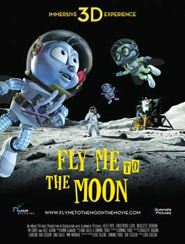 Fly Me To The Moon - 11 x 17 Movie Poster - Style E