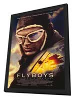 Flyboys - 27 x 40 Movie Poster - Style A - in Deluxe Wood Frame