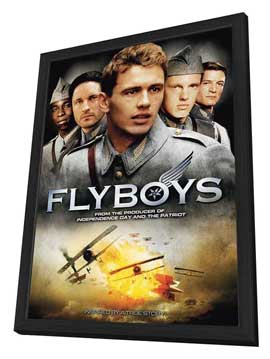 Flyboys - 27 x 40 Movie Poster - Style C - in Deluxe Wood Frame