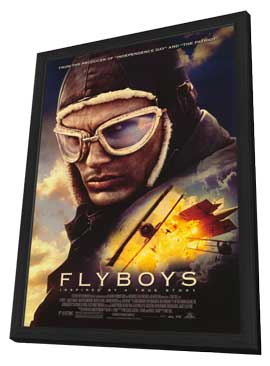 Flyboys - 11 x 17 Movie Poster - Style A - in Deluxe Wood Frame