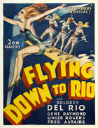 Flying Down to Rio - 11 x 17 Movie Poster - Style D